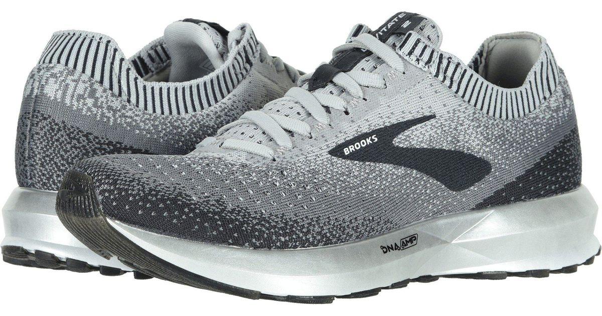 f3adb2de9eb Lyst - Brooks Levitate 2 (lilac purple navy) Women s Running Shoes in Gray