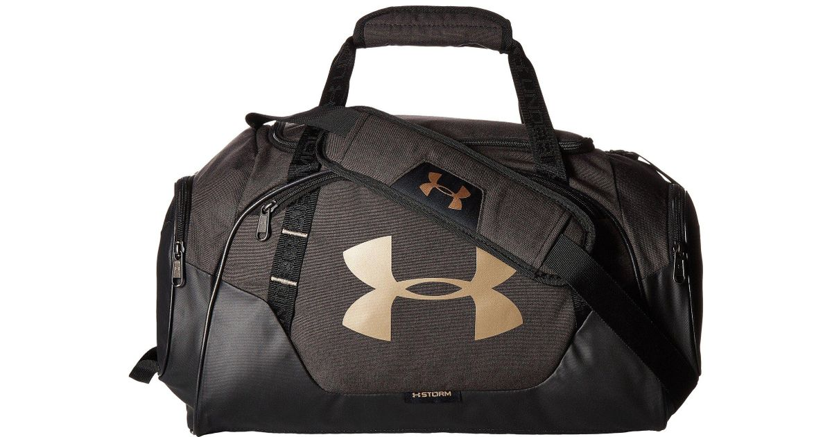 0a5bdac5c463 Lyst - Under Armour Ua Undeniable Duffel 3.0 Xs in Black for Men