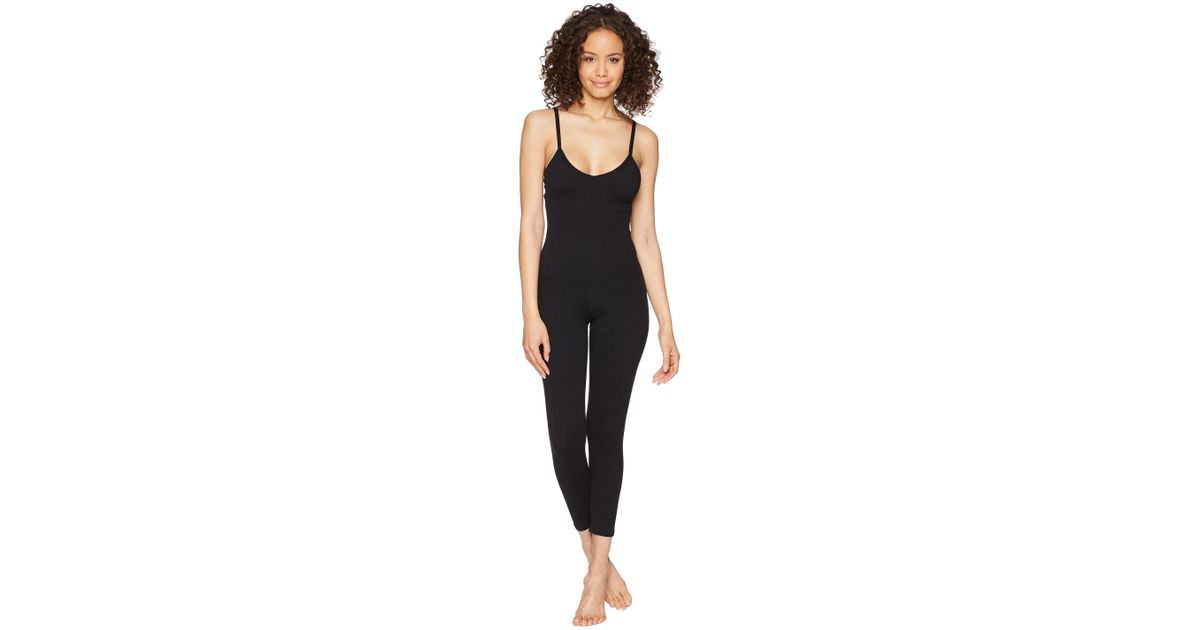 08955bf38a7 Lyst - Beyond Yoga Levels Bodysuit (jet Black) Women s Jumpsuit   Rompers  One Piece in Black