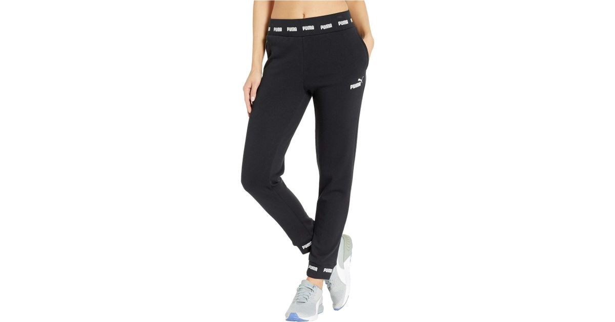 732bf7fd45d6d PUMA Amplified Sweatpants (cotton Black) Clothing