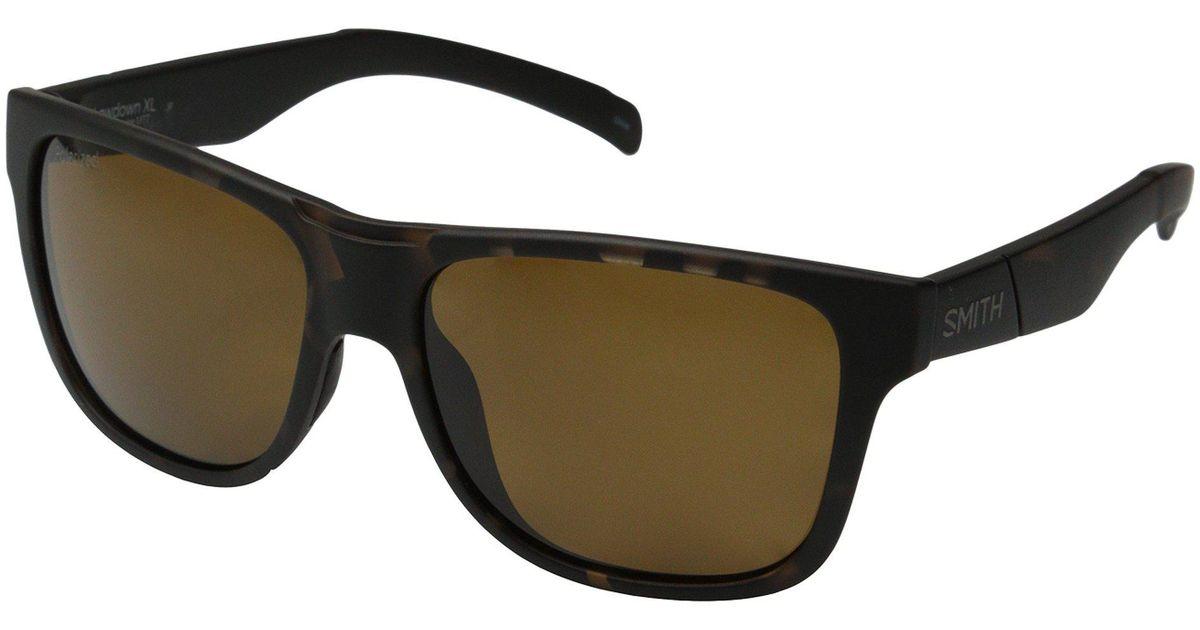 f40d404f1a99 Lyst - Smith Optics Lowdown Xl (matte Tortoise Neon chromapop Sun Green  Mirror Lens) Fashion Sunglasses in Brown for Men
