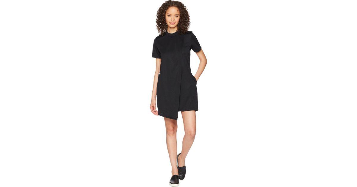 b86741480df0 Lyst - Converse Track Dress (white) Women s Dress in Black