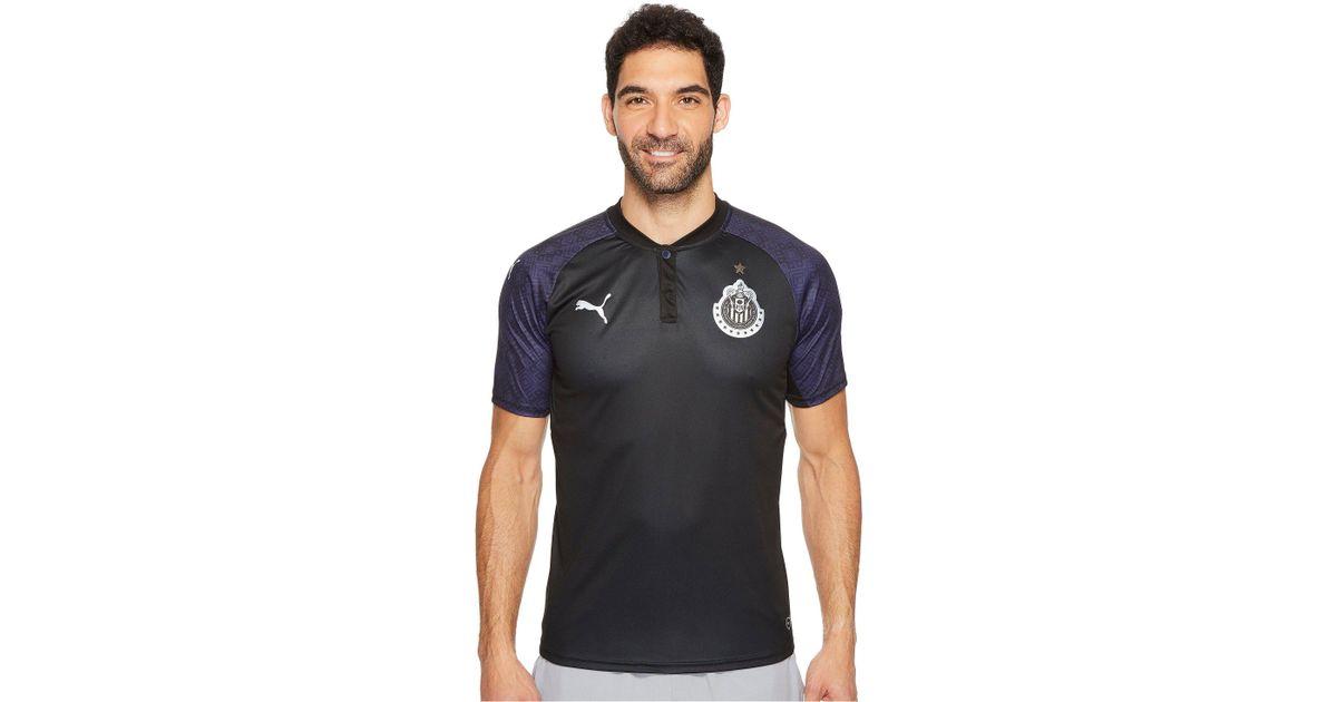 new style 13453 2864a PUMA Black Chivas Away Shirt Replica 17-18 for men