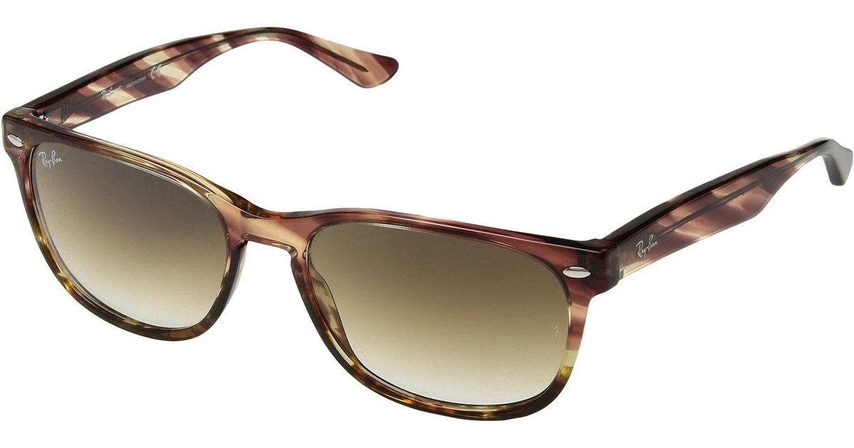 891dbc1d53c Lyst - Ray-Ban Rb2184 57 Mm. (black green Polar) Fashion Sunglasses