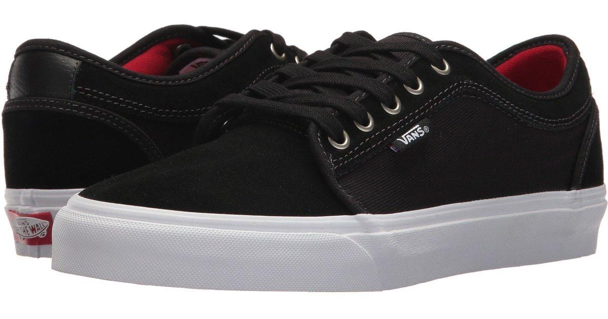 63fc40650eb6 Vans Black Chukka Low (humus/true White) Men's Skate Shoes for men