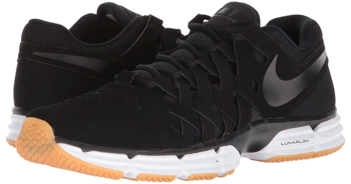 c9aad892a0e65f Lyst - Nike Lunar Fingertrap Tr (thunder Grey total Orange gunsmoke) Men s  Shoes in Black for Men