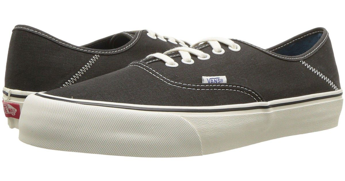 cb966a0301 Lyst - Vans Authentic Sf ((surf Check) Black sunflower) Men s Lace Up Casual  Shoes in Black for Men