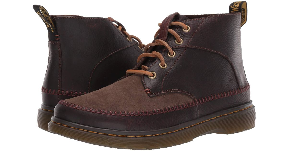 Dr. Martens Suede Flloyd Revive in