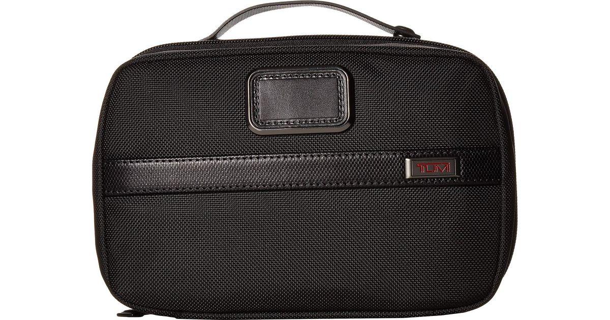 Lyst - Tumi Alpha 3 Split Travel Kit (black) Luggage in Black 3a7324a7724d1