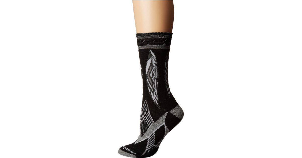 40c0e7f19 Lyst - Smartwool Feather Dream Non-binding Crew (black) Women s Crew Cut  Socks Shoes in Black