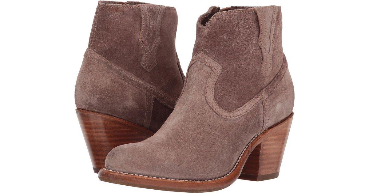 Lillian Western Block Heel Booties ceKLC
