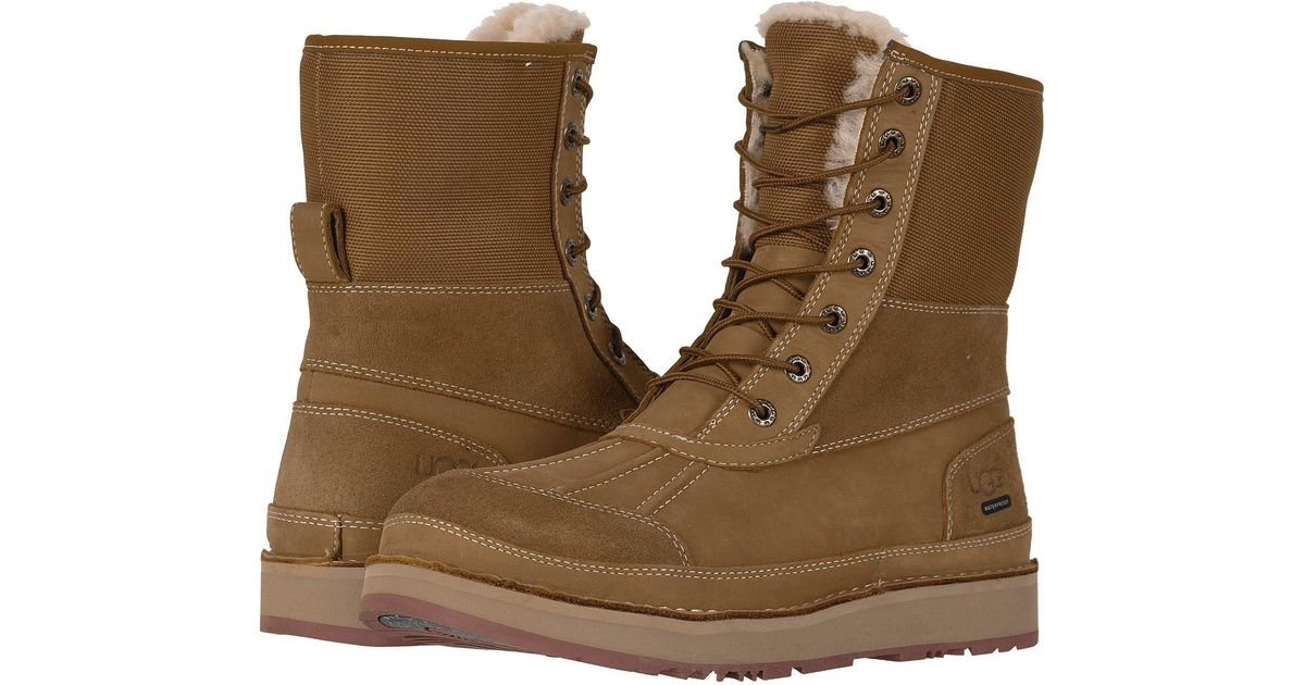 41a6e8e5a74 Ugg Brown Avalanche Butte (chestnut) Men's Cold Weather Boots for men