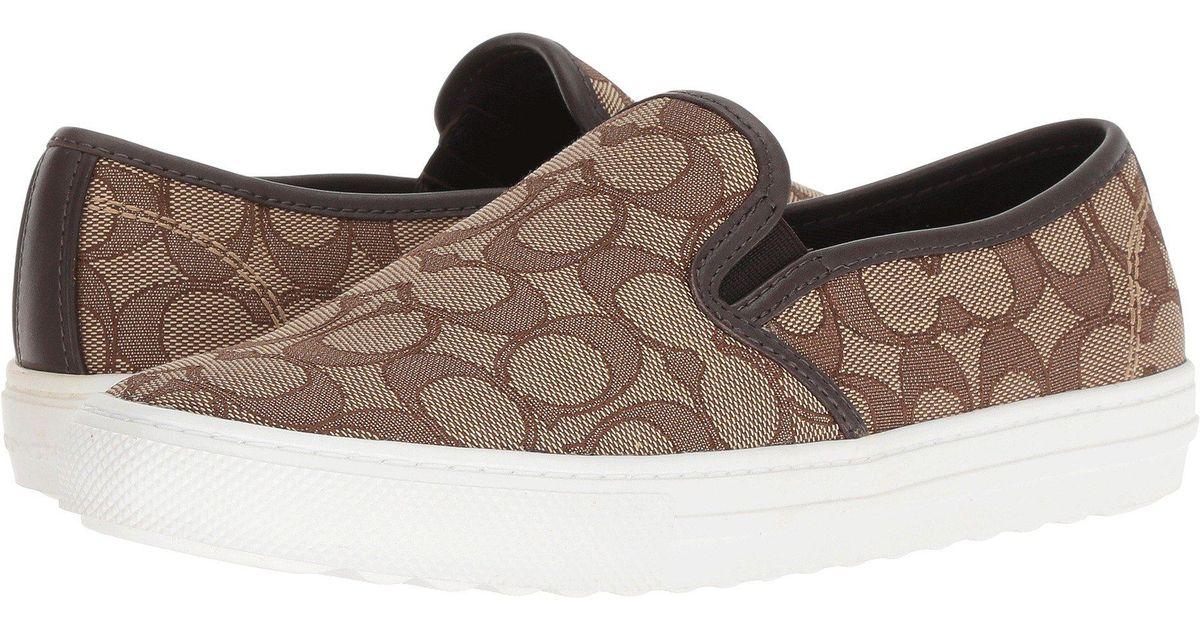 f7dbada0 COACH Multicolor C115 (black Smoke/black Signature C) Women's Slip On Shoes