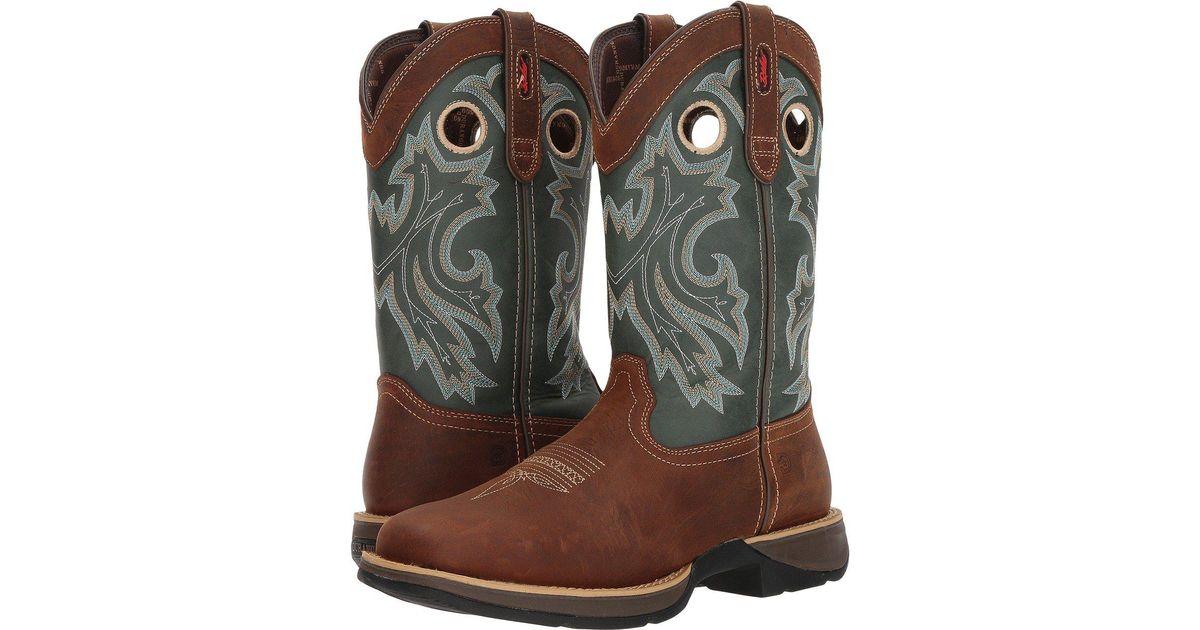 653641b6427 Durango Brown Rebel By Steel Toe Pull-on Western Boot for men