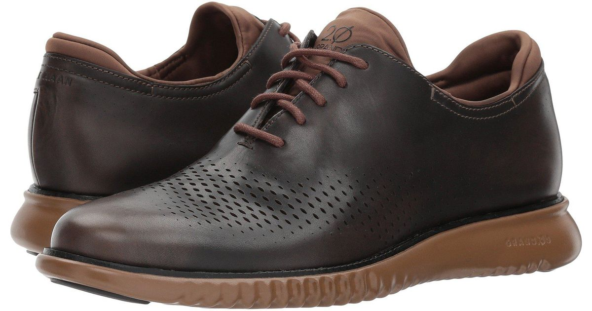 Cole Haan Leather 2 Zerogrand Lsr Wing