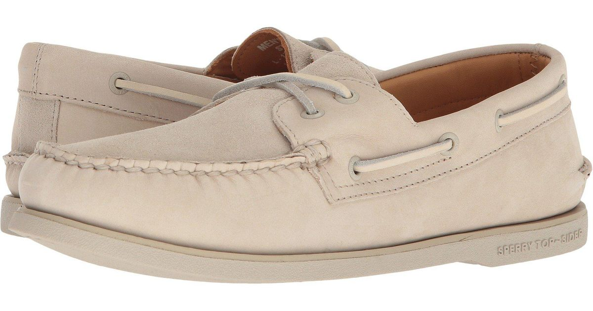 1838b7699cb Lyst - Sperry Top-Sider Gold A o 2-eye Pastel (cement) Men s Shoes for Men
