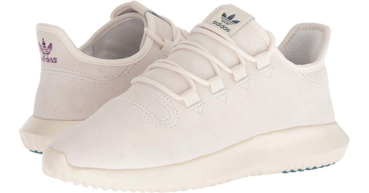 los angeles 7e7e1 7dc4d Adidas Originals Tubular Shadow W (chalk White/shock Pink/utility Green)  Women's Shoes