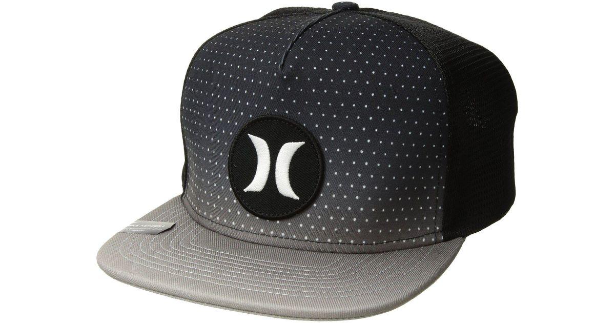 fbaaa2236 Hurley Black Third Reef Hat (vapor Green) Caps for men