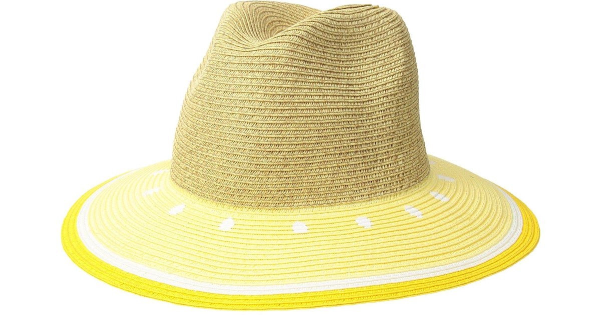 Lyst - San Diego Hat Company Ubf1102 Fruit Fedora in Yellow 22abdf1794d4