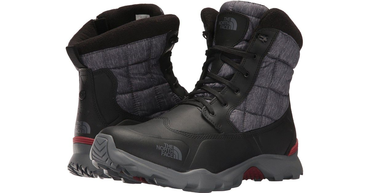 Leather Thermoball Boot Zipper