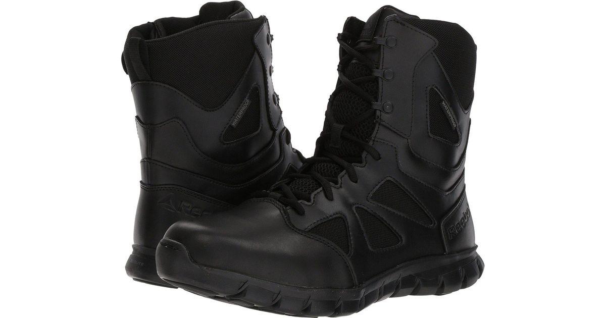 daa3ba17610 Lyst - Reebok Sublite Cushion Tactical (black 5) Men s Boots in Black for  Men - Save 44%