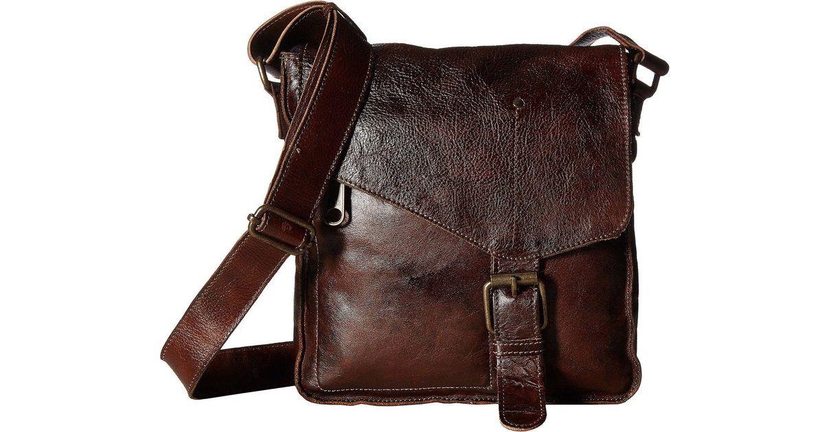 7c1acc711e16 Bed Stu Venice Beach (teak Rustic) Cross Body Handbags in Brown - Lyst