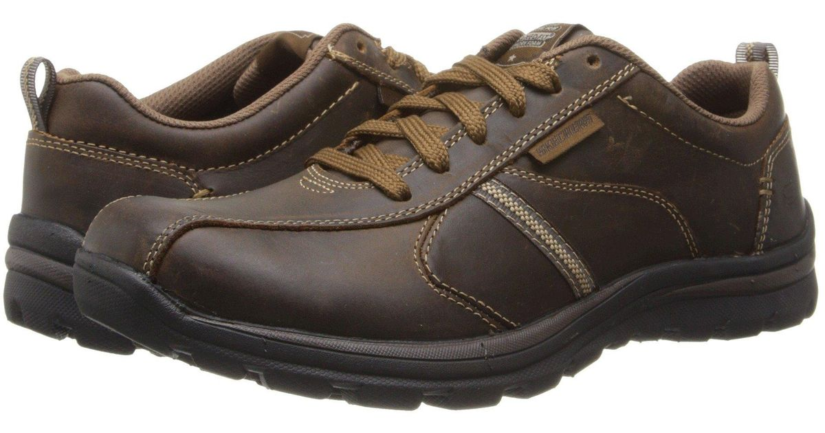 Skechers Leather Relaxed Fit Superior