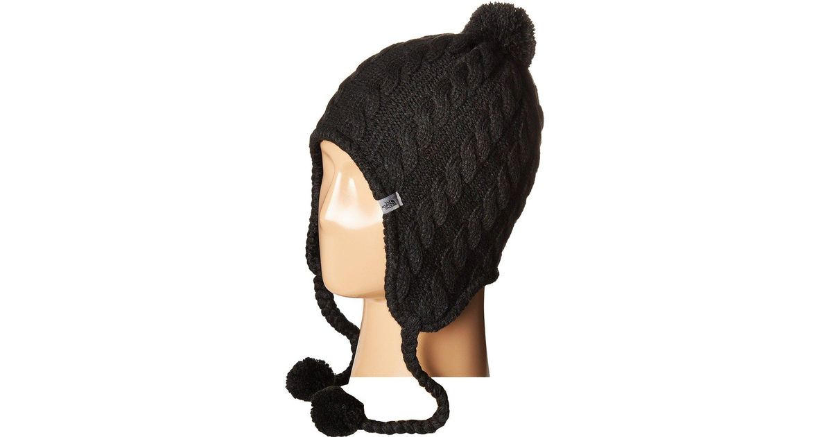b18af5a90 The North Face Black Fuzzy Earflap Beanie for men