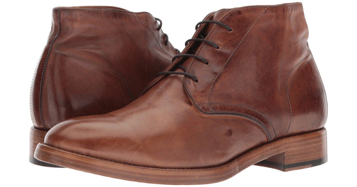 fc5ae559fdc Frye Brown Chase Chukka (grey Tumbled Waxed Calf) Men's Pull-on Boots for  men