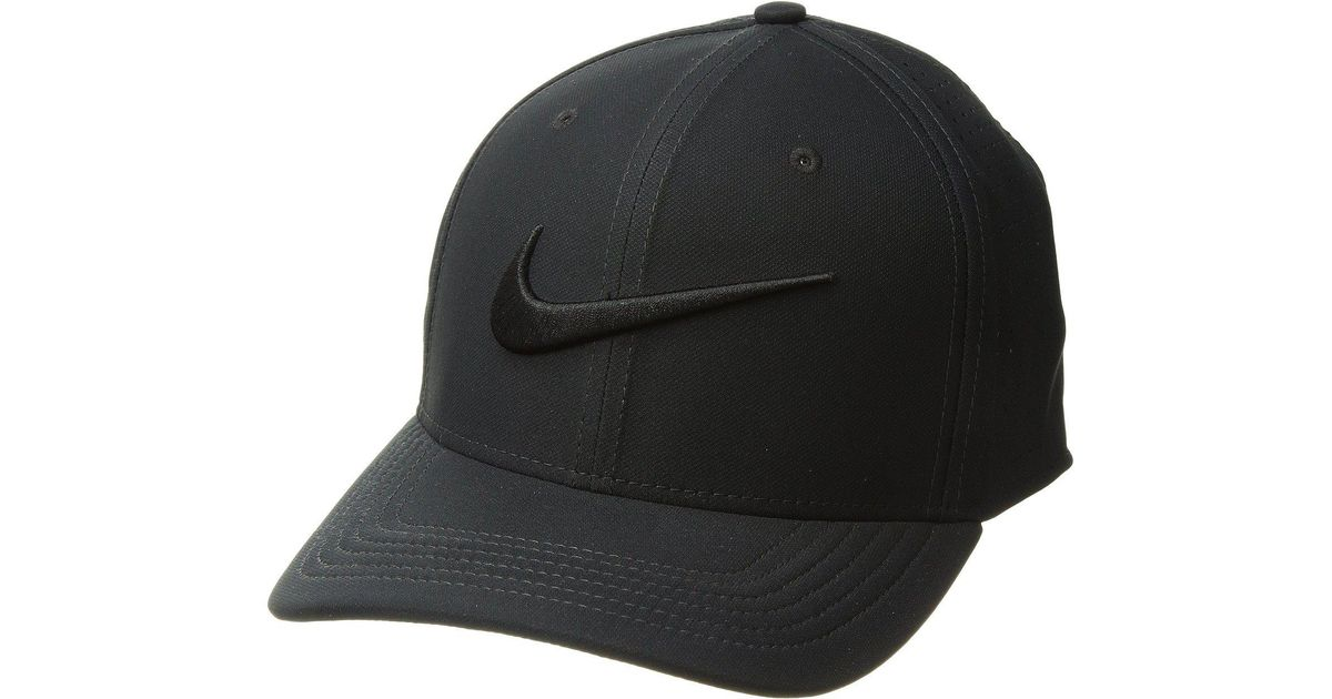 f15921faf14 Lyst - Nike Train Vapor Swooshflex Hat in Black for Men