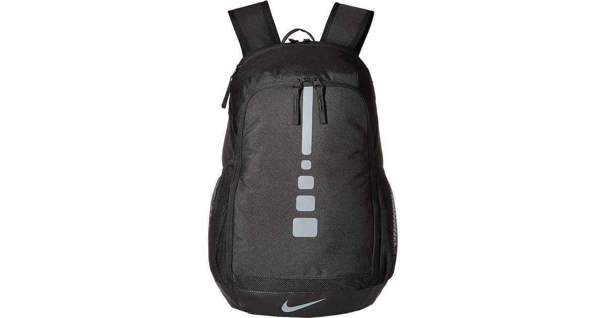 Nike Black Hoops Elite Varsity Basketball Backpack For Men