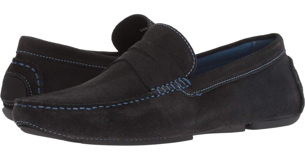 47883e13957 Lyst - Donald J Pliner Varran 2 (dark Gray Oily Suede) Men s Shoes in Black  for Men