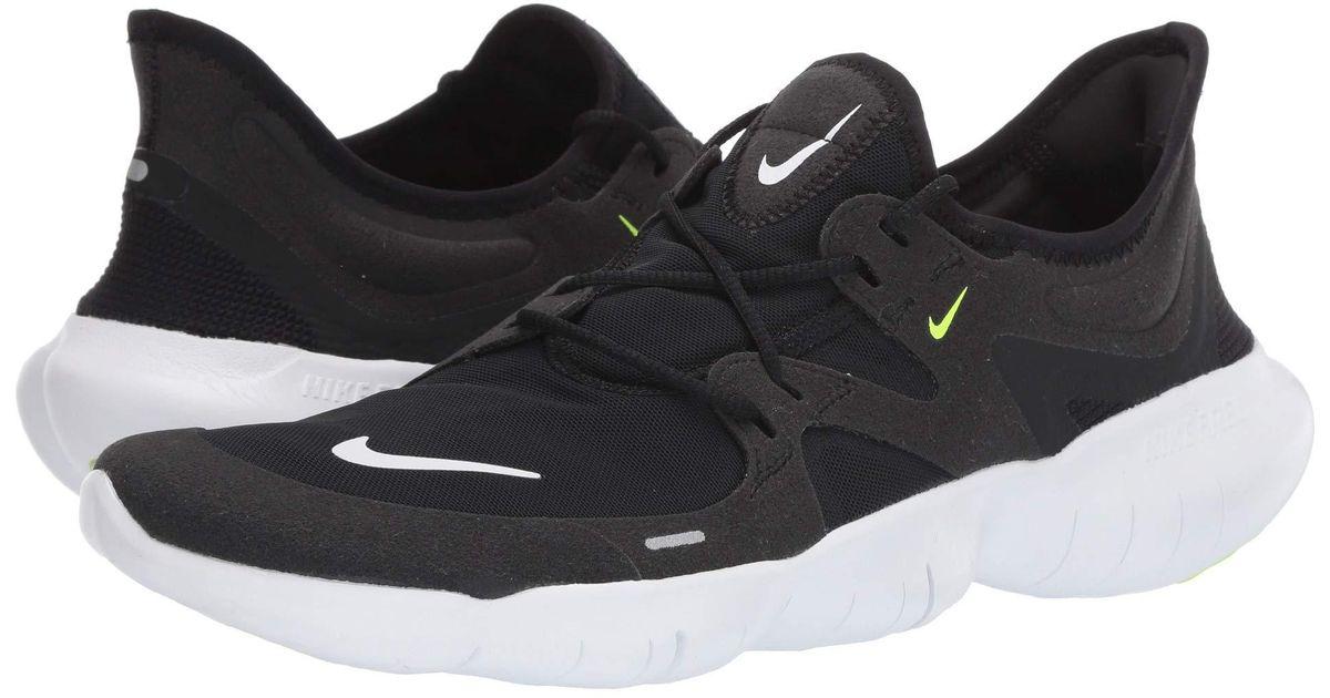 brand new 1134b 7b158 Lyst - Nike Free Rn 5.0 (black/white/anthracite/volt) Men's Running Shoes  in Black for Men