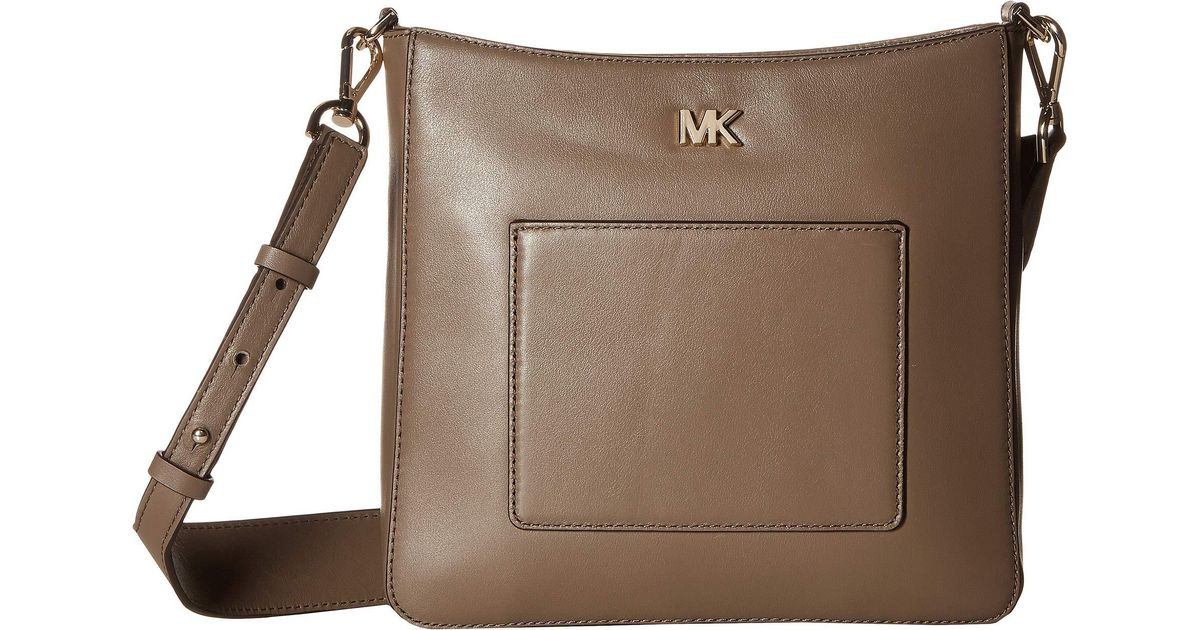 caf0564e22ee Lyst - MICHAEL Michael Kors Gloria Pocket Swing Pack in Brown - Save 8%