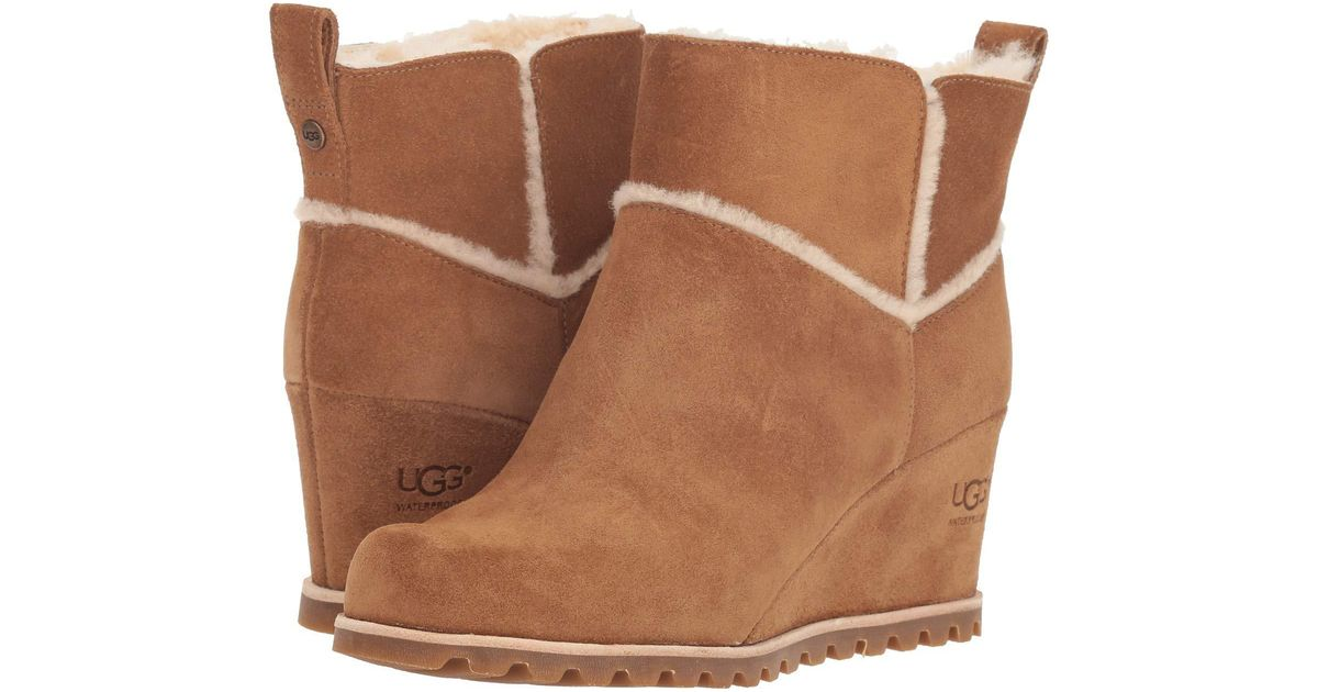 edbb8a0cc3c Ugg Brown Marte Boot (antilope) Women's Boots