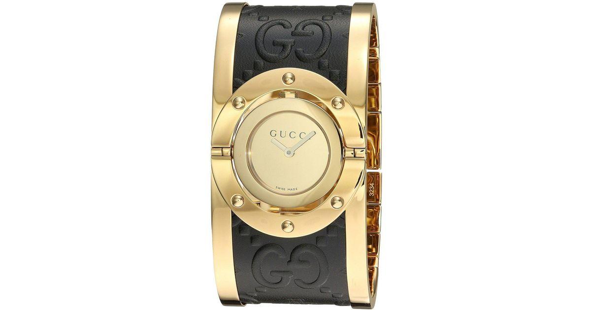 cc36a798855 Lyst - Gucci Twirl-ya112444 in Metallic