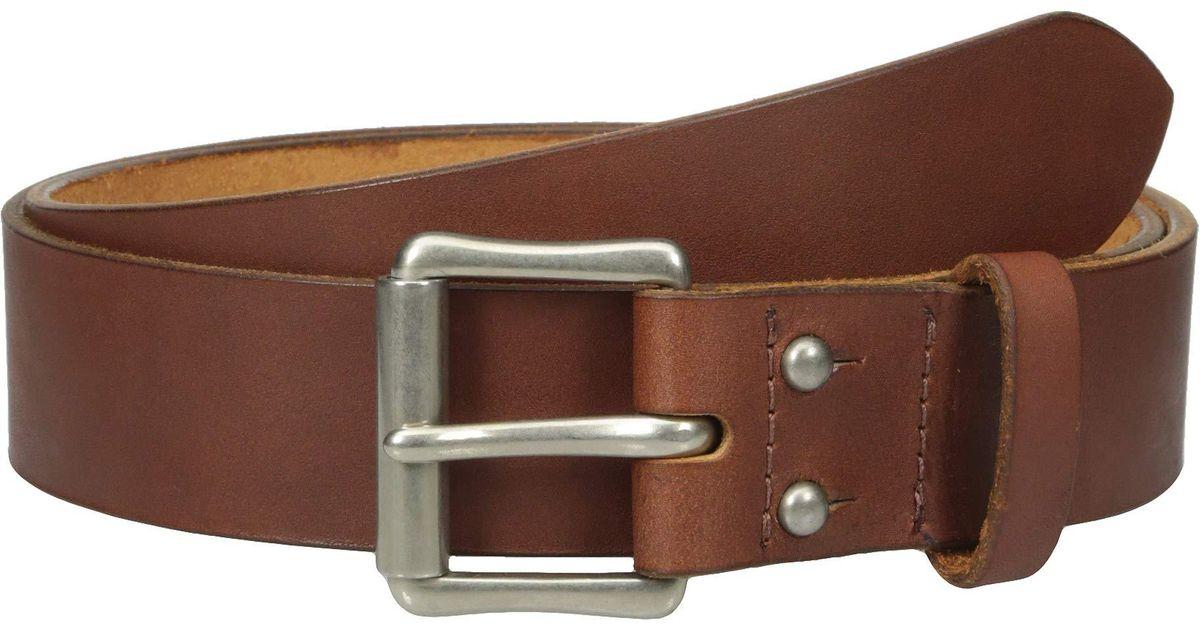 577d5035 Red Wing 1 1/2 Pioneer Leather Belt (black) Men's Belts in Brown for Men -  Lyst
