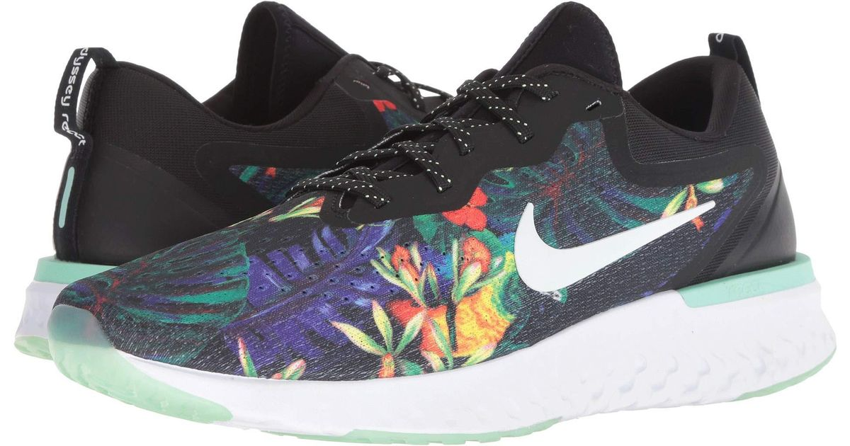 02bf4bcd8634c Lyst - Nike Odyssey React Gpx Rs (black white green Glow) Men s Running  Shoes for Men
