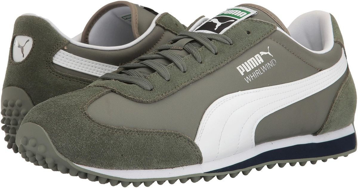 d9bf6846041b Lyst - PUMA Whirlwind Classic in Green for Men
