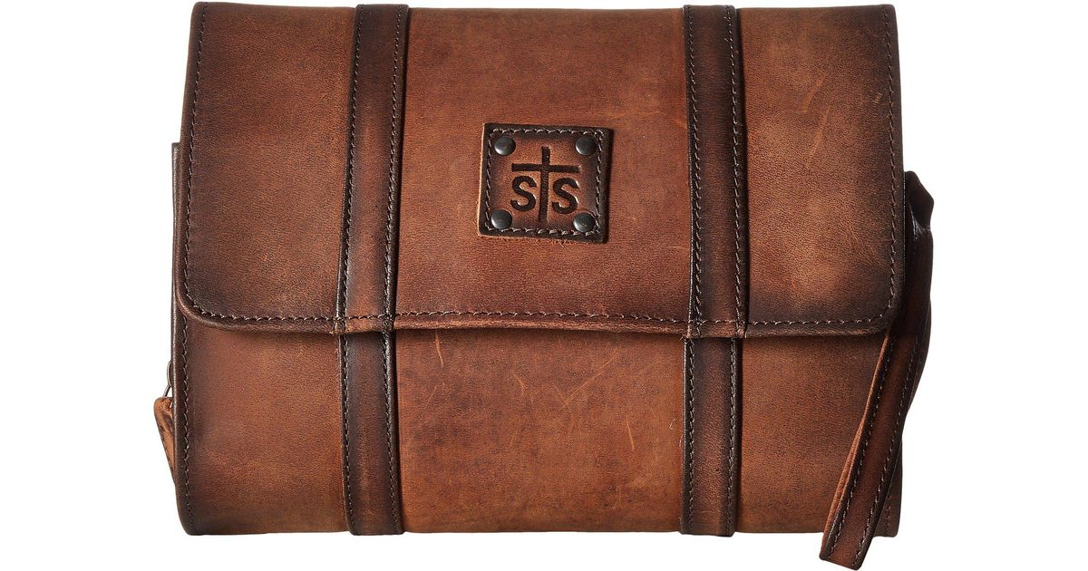 e4f8adaf94 Lyst - Sts Ranchwear The Foreman Hanging Shave Kit (brown) Handbags in  Brown for Men