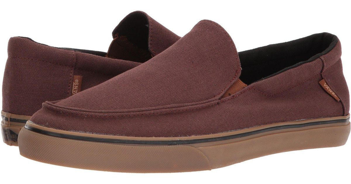 a7ce72f180a86d Lyst - Vans Bali Sf ((heavy Canvas) Shaved Chocolate) Men s Shoes in Brown  for Men