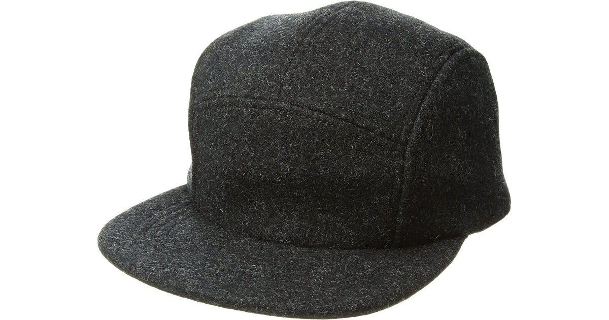 Lyst - Filson 5-panel Wool Cap in Gray for Men 108e8a1b9f4