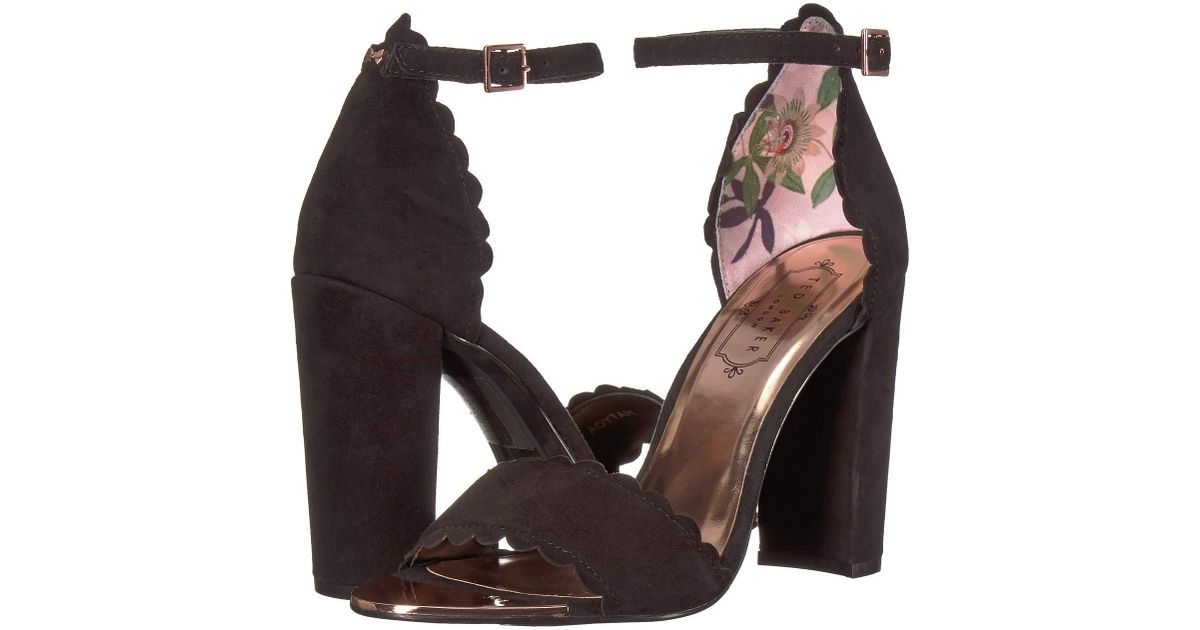 03d8bae05 Lyst - Ted Baker Raidha (pink Blossom) Women s Shoes in Black