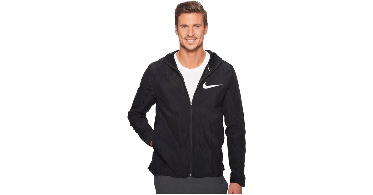 Lyst - Nike Showtime Basketball Jacket in Black for Men 73a853c02