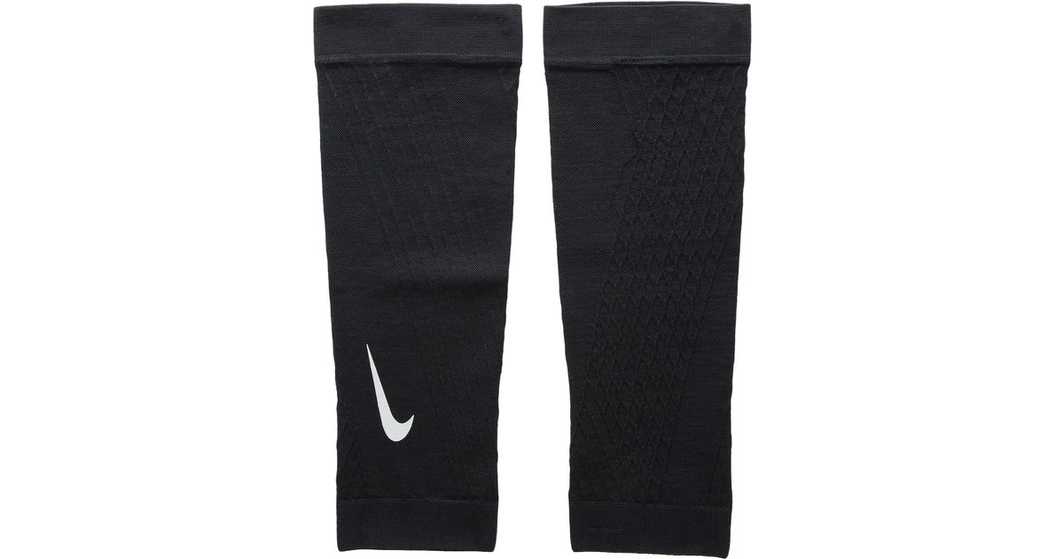 Hilly Energize Blue Black CoolMAX Running Sports Compression Calf Sleeve