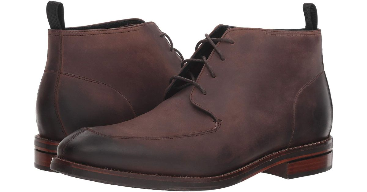0c985646a38ef Cole Haan Wagner Grand Apron Chukka (java Nubuck) Men's Shoes in Brown for  Men - Lyst
