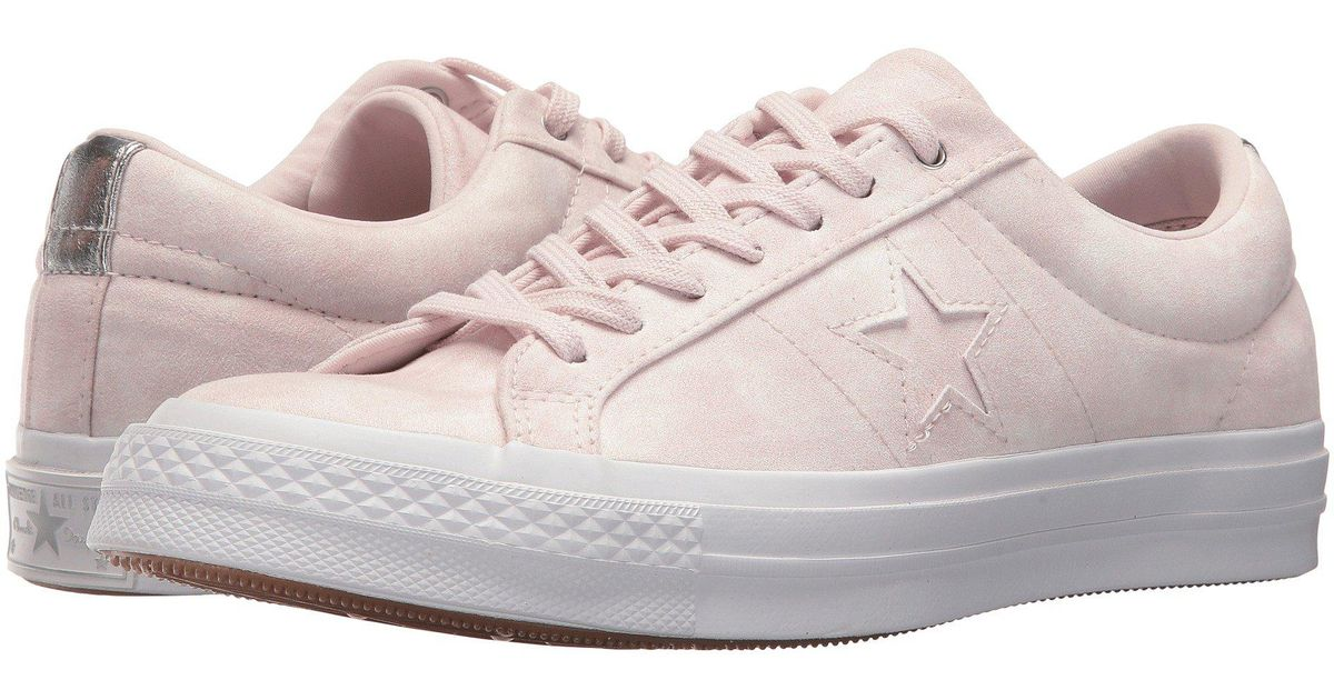 converse one star peached