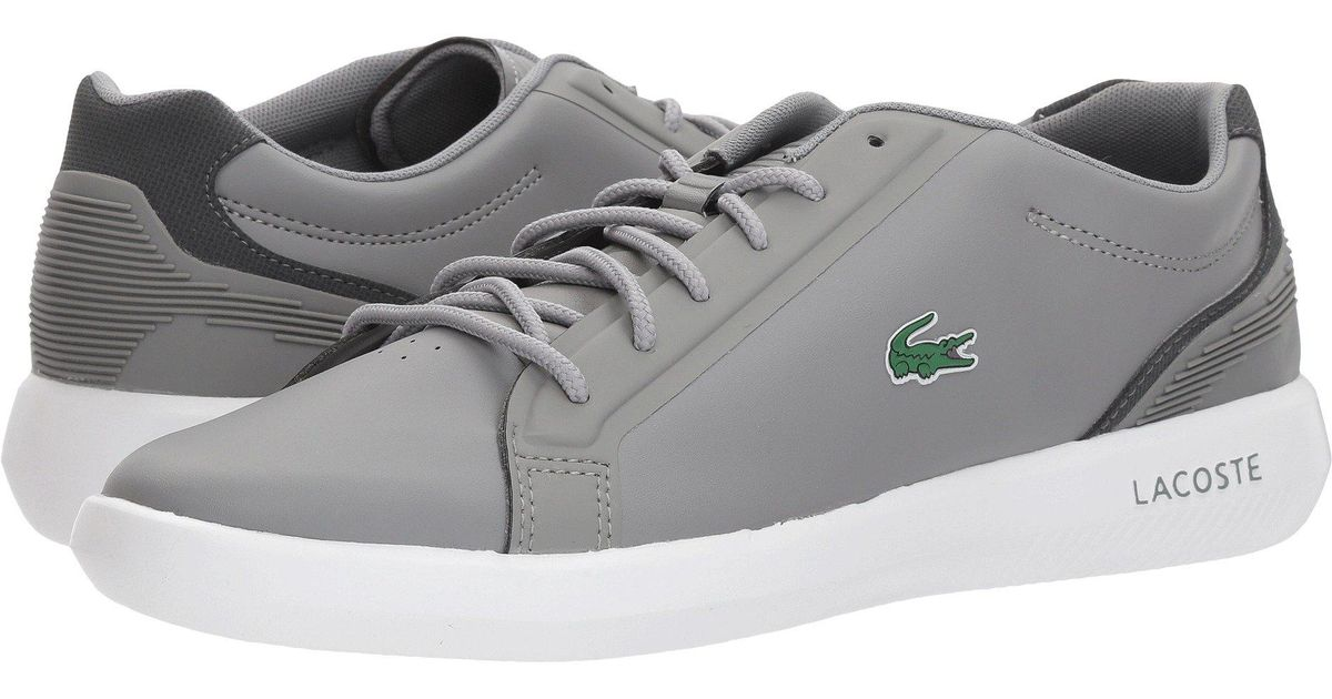 f5f93ba10057ce Lyst - Lacoste  s Avantor Sneakers in Gray for Men - Save 34%