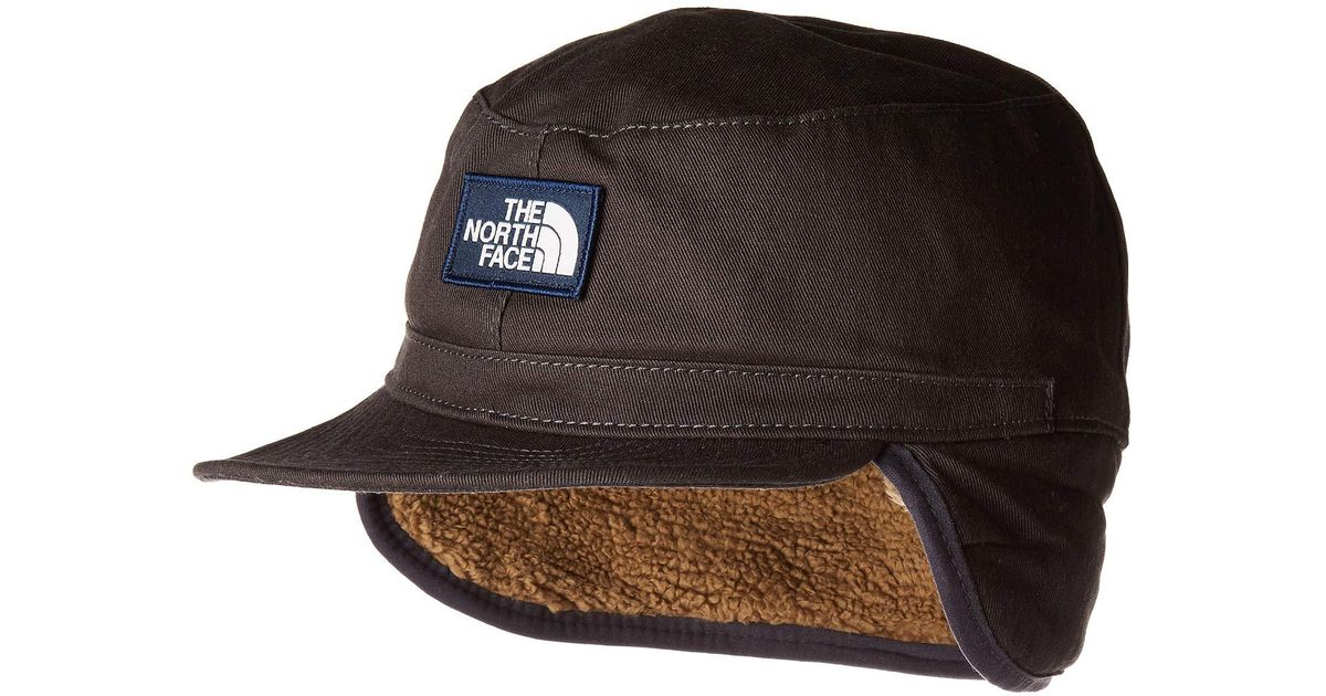 Lyst - The North Face Campshire Earflap Cap (weathered Black) Caps in Black  for Men 9af7a89c8c38