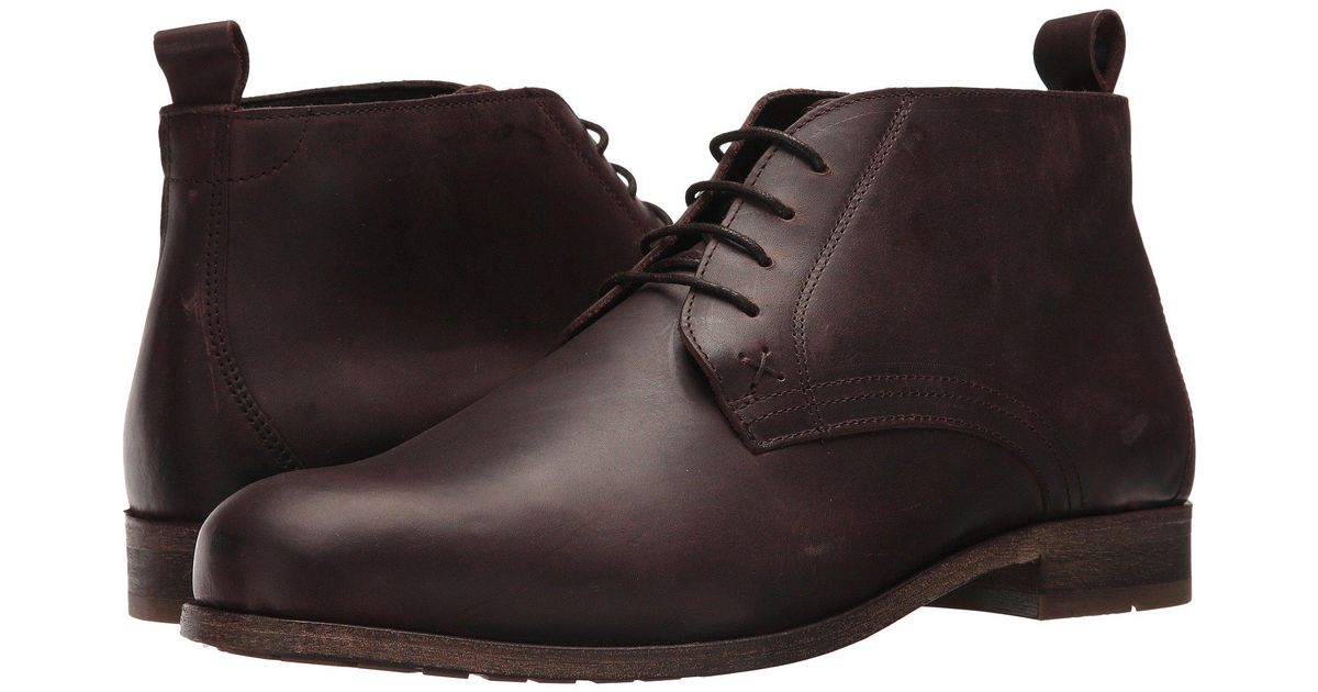 5a8bb6e06bb Wolverine Brown Deacon Chukka (oxblood Leather) Men's Boots for men